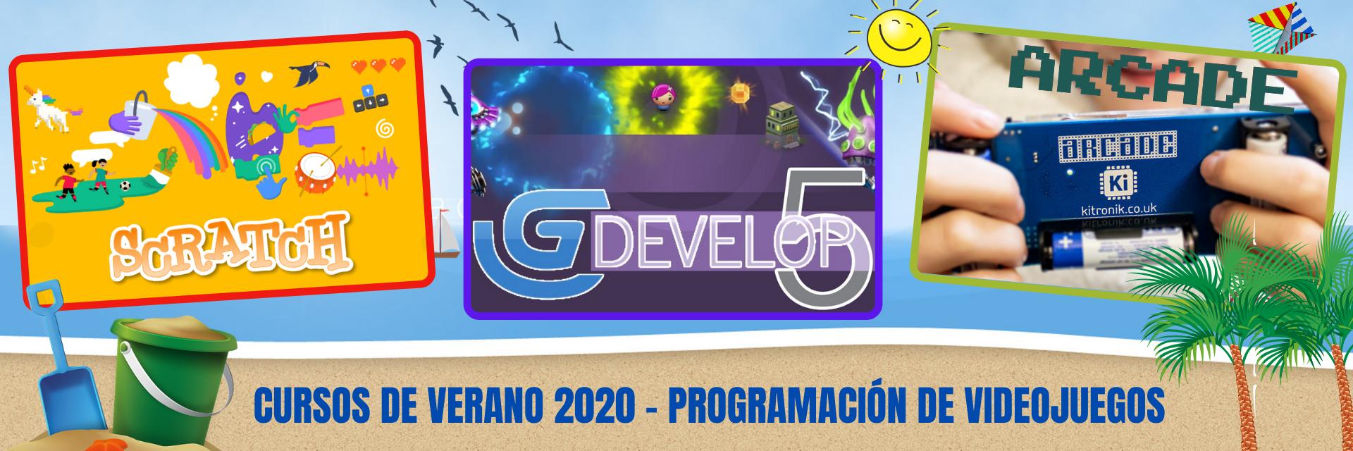 Cursos de verano 2020 - Programación y videojuegos