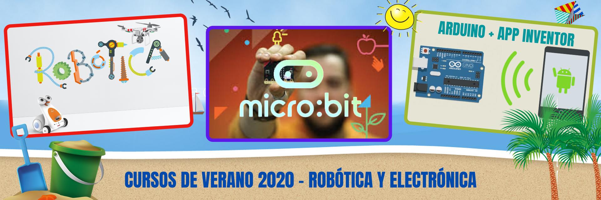 Cursos de robótica y elecrónica en Crea tu mundo